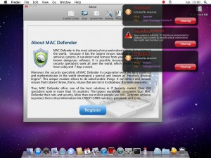 Mac Defender Malware