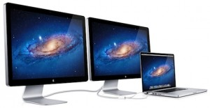 Thunderbolt displays