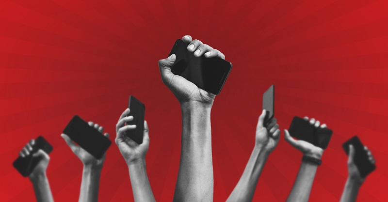 iPhones for political campaigns